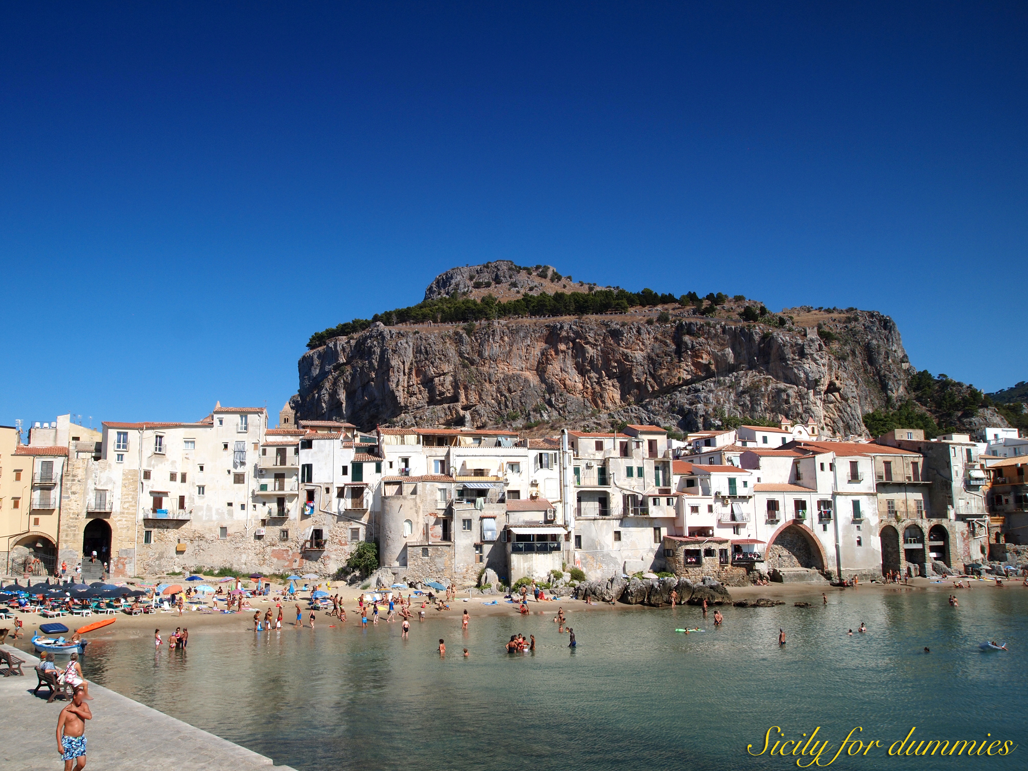 A holiday in Cefalu …. not just the sea