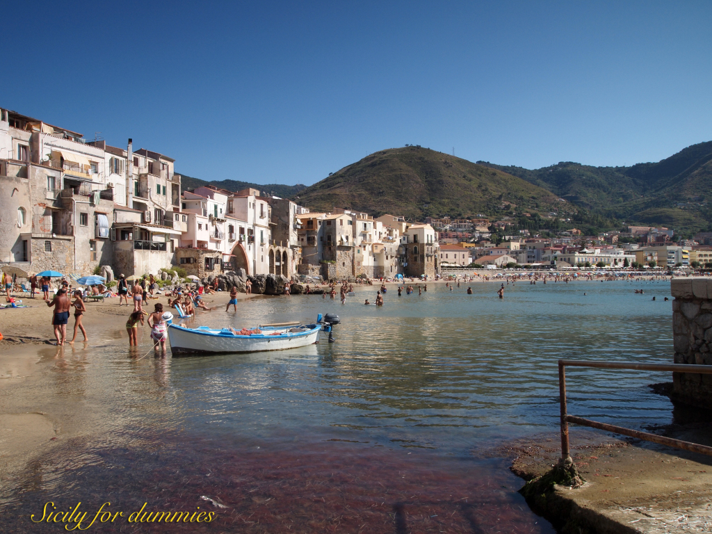 Cefalù seafront